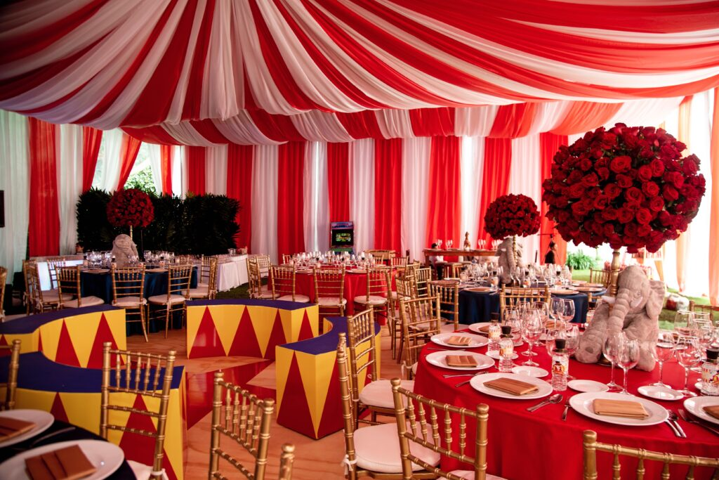 #eventdesign #circus